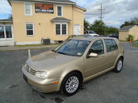 2005 Volkswagen Golf for sale at Top Gear Motors in Winchester VA