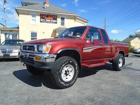 1995 Toyota Pickup for sale at Top Gear Motors in Winchester VA