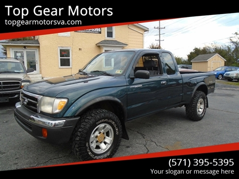 1998 Toyota Tacoma for sale at Top Gear Motors in Winchester VA