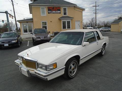 1992 Cadillac DeVille for sale at Top Gear Motors in Winchester VA
