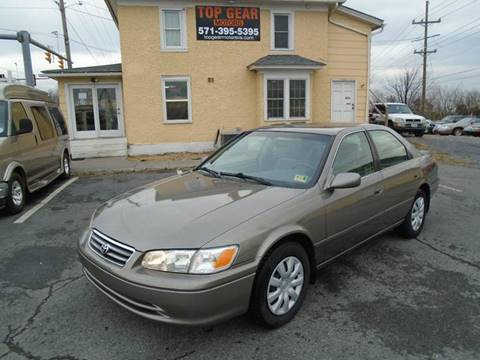 2000 Toyota Camry for sale at Top Gear Motors in Winchester VA