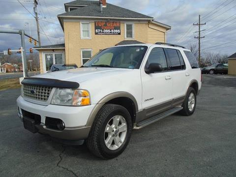 2004 Ford Explorer for sale at Top Gear Motors in Winchester VA