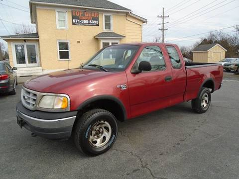1999 Ford F-150 for sale at Top Gear Motors in Winchester VA