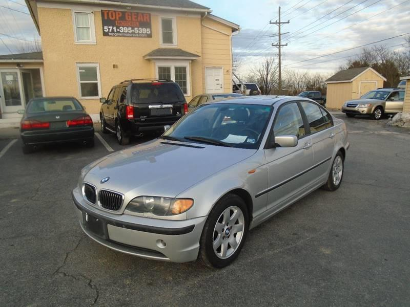 2004 BMW 3 Series for sale at Top Gear Motors in Winchester VA