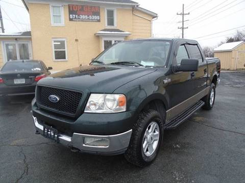 2004 Ford F-150 for sale at Top Gear Motors in Winchester VA