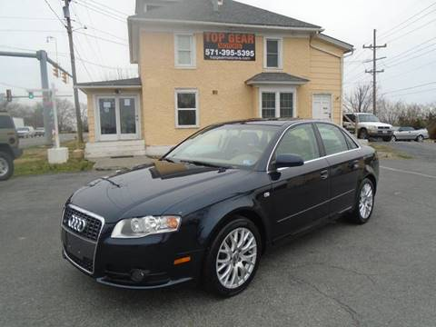 2008 Audi A4 for sale at Top Gear Motors in Winchester VA