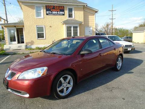 2008 Pontiac G6 for sale at Top Gear Motors in Winchester VA