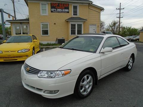 2002 Toyota Camry Solara for sale at Top Gear Motors in Winchester VA