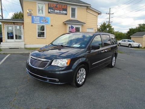 2014 Chrysler Town and Country for sale at Top Gear Motors in Winchester VA