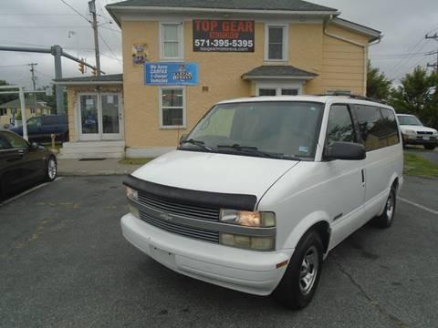 1999 Chevrolet Astro for sale in Winchester, VA