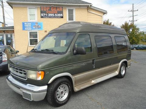 2002 Ford E-Series Cargo for sale at Top Gear Motors in Winchester VA