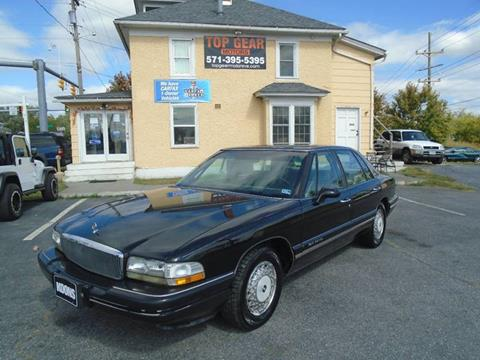 1996 Buick Park Avenue for sale at Top Gear Motors in Winchester VA