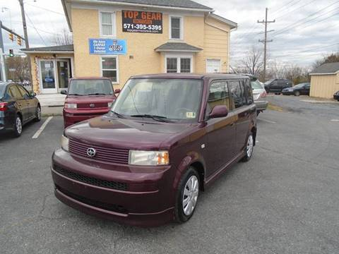 2005 Scion xB for sale at Top Gear Motors in Winchester VA
