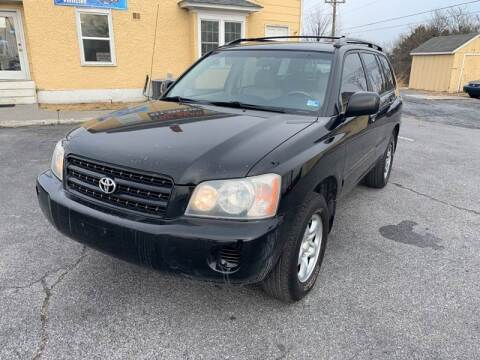 2003 Toyota Highlander for sale at Top Gear Motors in Winchester VA