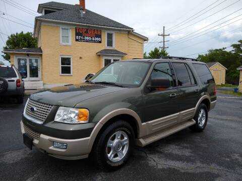 2005 Ford Expedition for sale at Top Gear Motors in Winchester VA