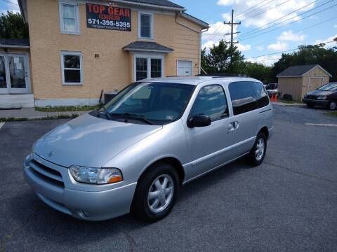 2002 Nissan Quest for sale at Top Gear Motors in Winchester VA