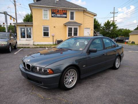 2001 BMW 5 Series for sale at Top Gear Motors in Winchester VA