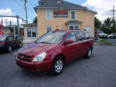 2006 Kia Sedona for sale at Top Gear Motors in Winchester VA