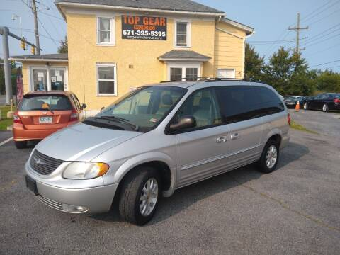 2002 Chrysler Town and Country for sale at Top Gear Motors in Winchester VA