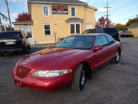 1998 Lincoln Mark VIII for sale at Top Gear Motors in Winchester VA