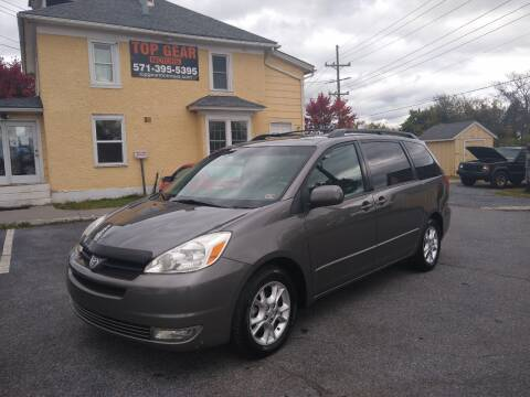2005 Toyota Sienna for sale at Top Gear Motors in Winchester VA