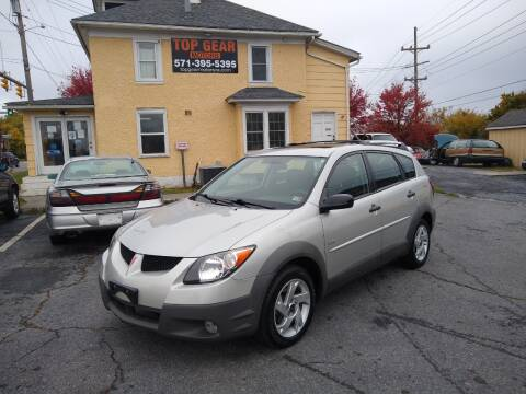 2003 Pontiac Vibe for sale at Top Gear Motors in Winchester VA