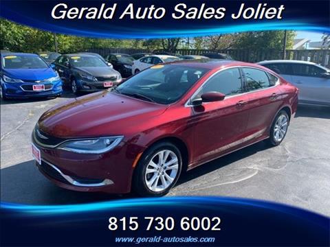 2015 Chrysler 200 for sale in Joliet, IL