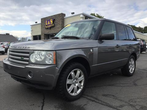 used land rover range rover for sale in connecticut. Black Bedroom Furniture Sets. Home Design Ideas