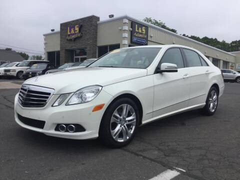 2010 Mercedes-Benz E-Class for sale in Plantsville, CT