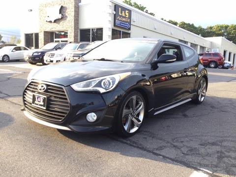 2014 Hyundai Veloster Turbo for sale in Plantsville, CT