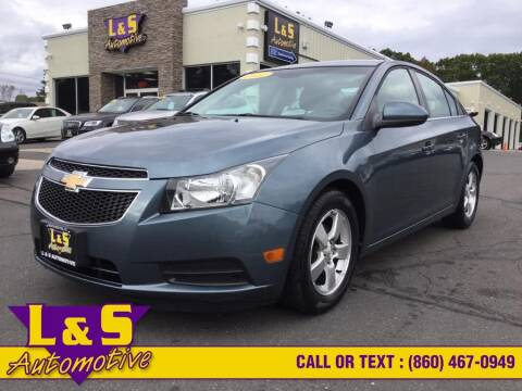 2012 Chevrolet Cruze for sale in Plantsville, CT
