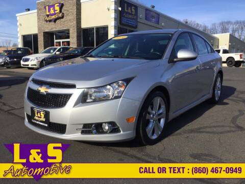 2014 Chevrolet Cruze for sale in Plantsville, CT