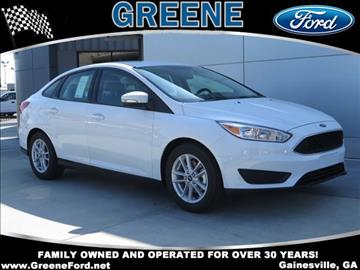 2017 Ford Focus for sale in Gainesville, GA