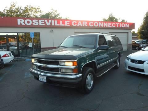 1998 Chevrolet Suburban for sale in Roseville, CA