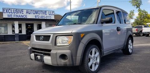2004 Honda Element for sale in Garland, TX