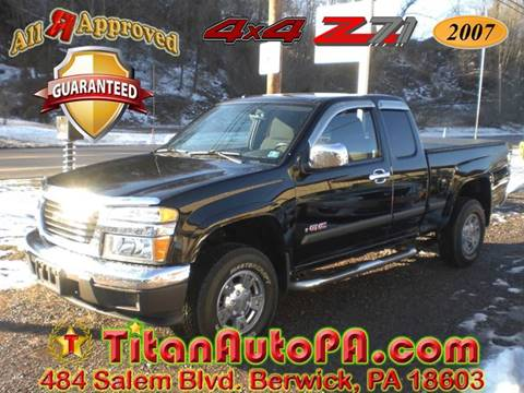 2007 GMC Canyon for sale in Berwick, PA