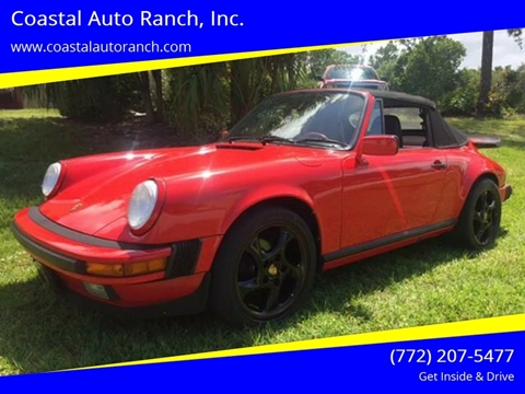1988 Porsche 911 for sale in Port Saint Lucie, FL