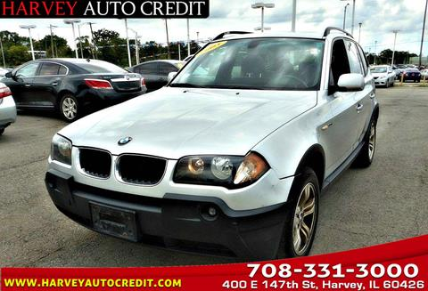 2005 BMW X3 for sale in Harvey, IL