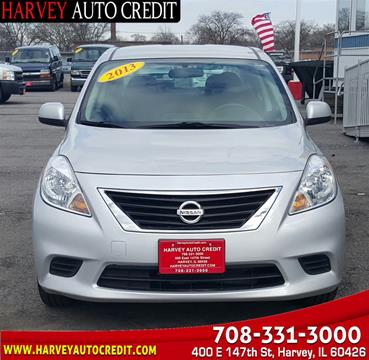 2013 Nissan Versa for sale in Harvey, IL