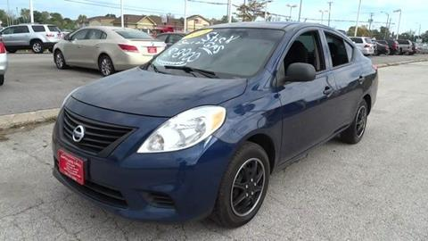 2014 Nissan Versa for sale in Harvey, IL
