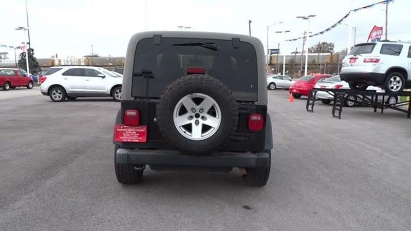 2006 Jeep Wrangler Rubicon 2dr SUV 4WD - Harvey IL