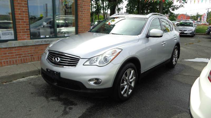 2011 Infiniti EX35 for sale at Merrimack Motors in Lawrence MA