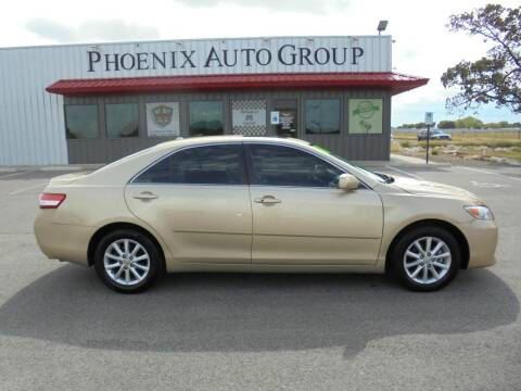 2011 Toyota Camry for sale at PHOENIX AUTO GROUP in Belton TX