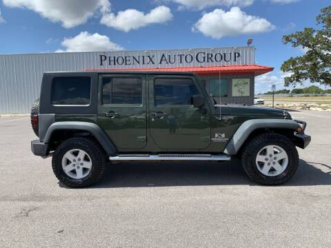2008 Jeep Wrangler Unlimited for sale at PHOENIX AUTO GROUP in Belton TX