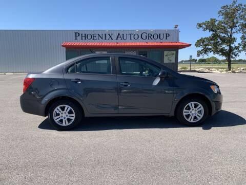 2012 Chevrolet Sonic for sale at PHOENIX AUTO GROUP in Belton TX