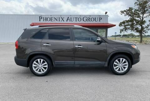 2011 Kia Sorento for sale at PHOENIX AUTO GROUP in Belton TX