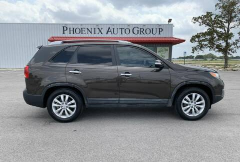 2011 Kia Sorento for sale at PHOENIX AUTO GROUP in Belton TX