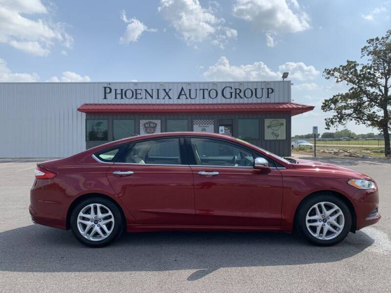 2015 Ford Fusion for sale at PHOENIX AUTO GROUP in Belton TX