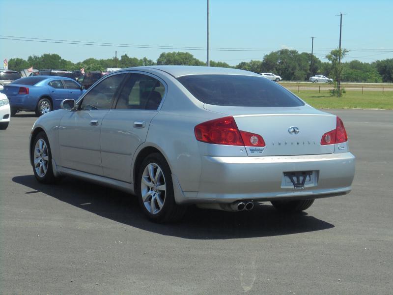 2005 Infiniti G35 Rwd 4dr Sedan - Belton TX