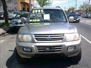 2002 Mitsubishi Montero for sale in Bronx, NY
